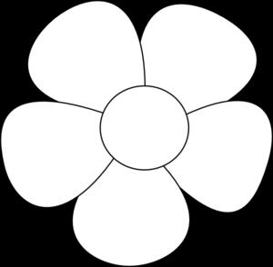 Simple Flower Clip Art At Clker Com   Vector Clip Art Online Royalty