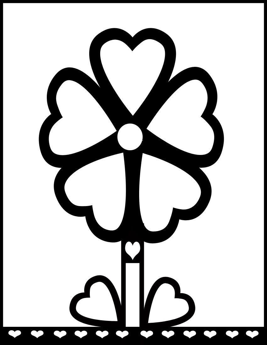 flower coloring pages carnation