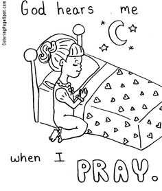 Sunday School Prayer Hands Clipart - Clipart Kid