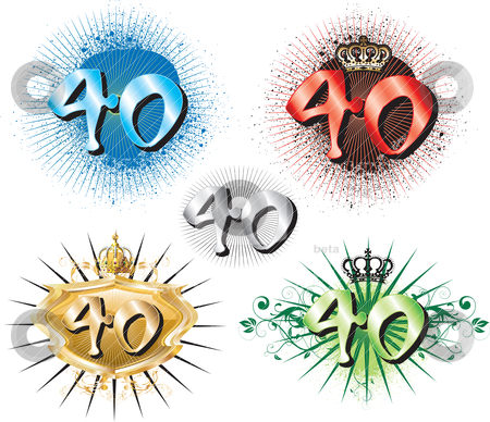 40th Birthday Clipart 40th Clipart 40th Clipart 40th