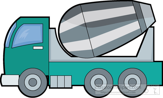 Download Cement Truck Clipart 93