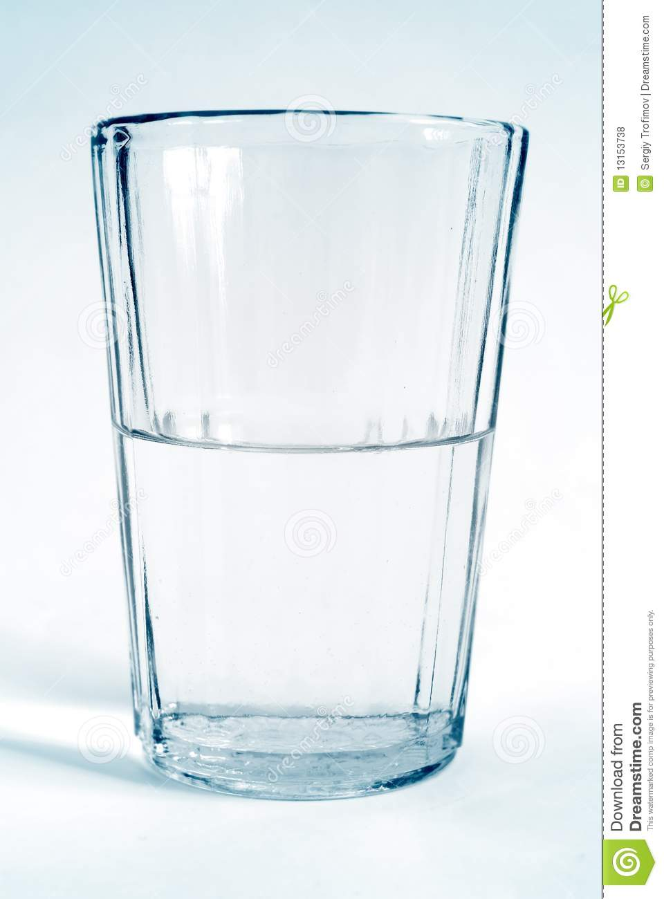 Glass Transparent Cup With Water Royalty Free Stock Photos   Image