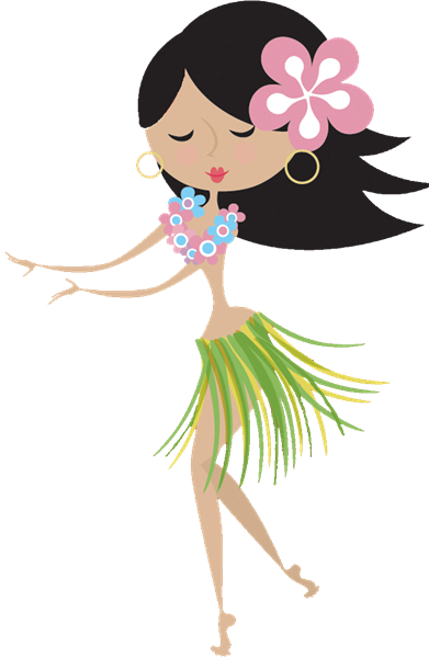 Luau Dancer Clipart - Clipart Kid