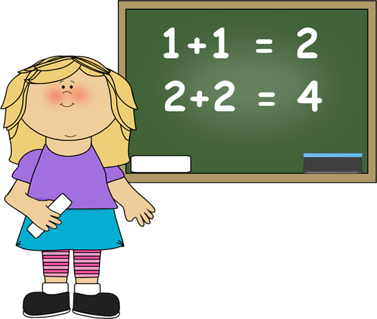 Math Chalkboard Clipart Images Pictures Becuo - Clipart Kid