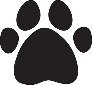 Paw Print Clip Art Images Paw Print Stock Photos   Clipart Paw Print