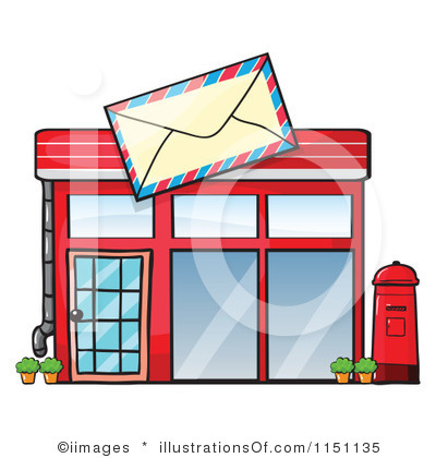 Post Office Clipart Black And White   Clipart Panda   Free Clipart