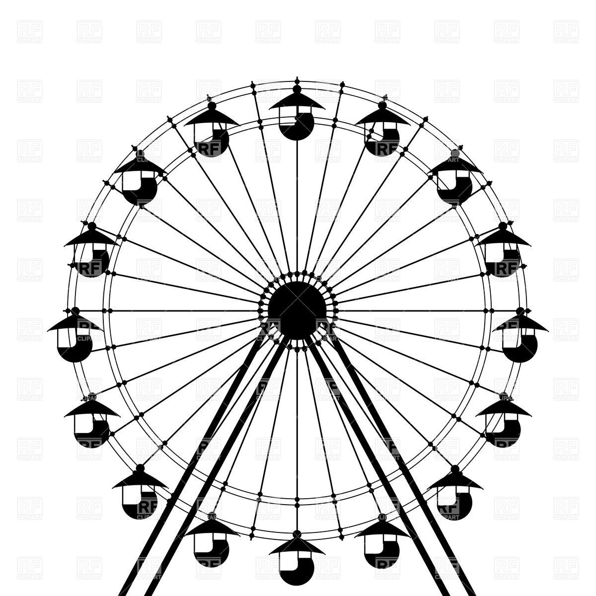 Ferris Wheel Clipart - Clipart Kid