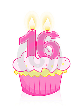 16th Birthday Clip Art