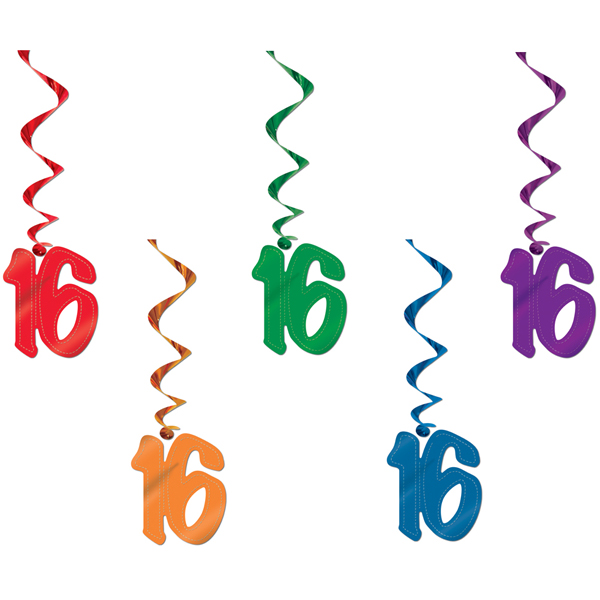 16th Birthday Clipart