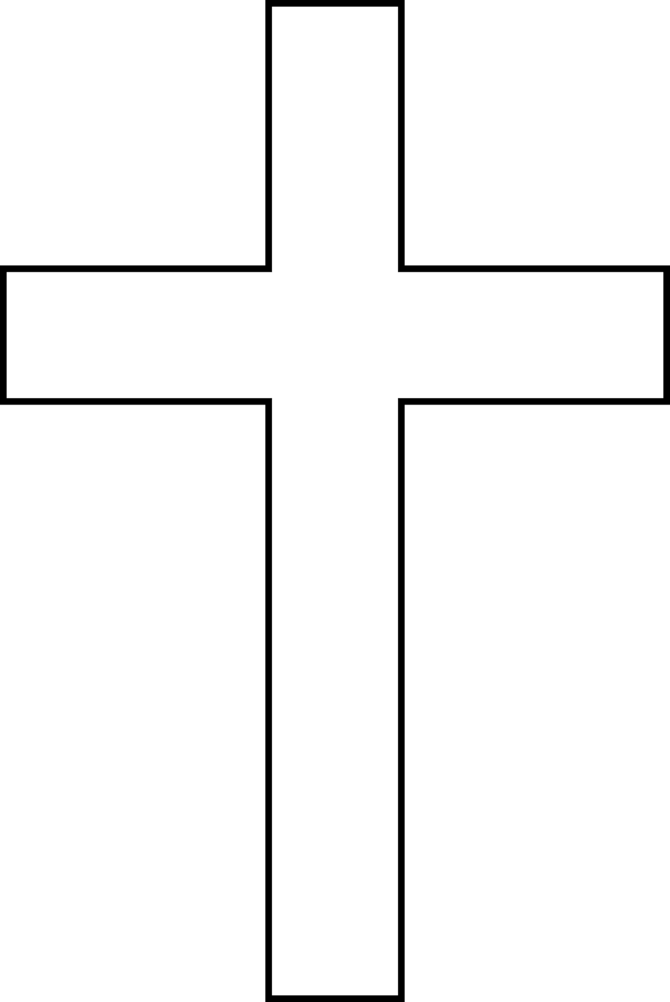 Cross With Transparent Background Clipart - Clipart Suggest