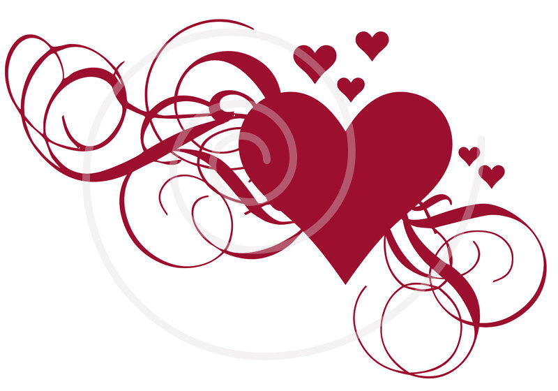 Download Vector About Wedding Heart Clipart Item 12  Vector Magz Com