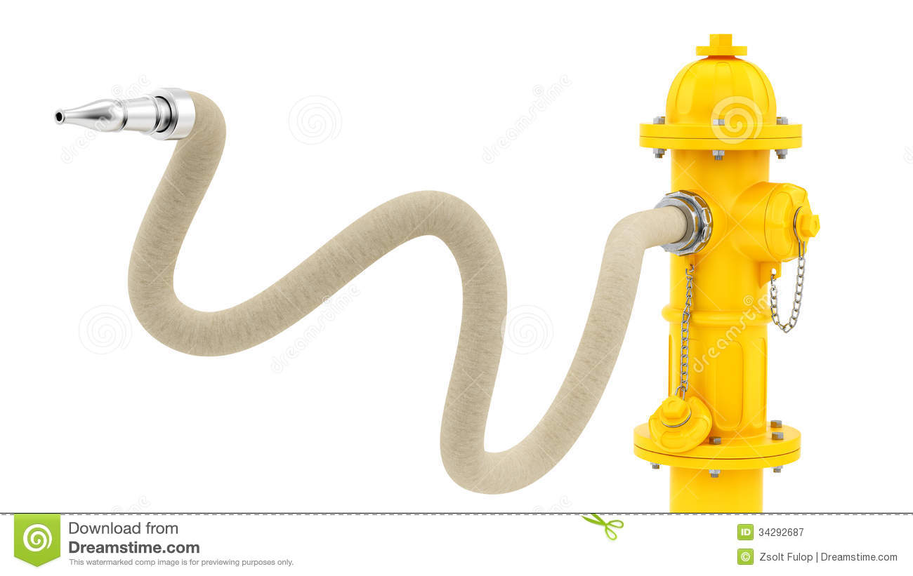 Fire Hydrant With Hose hose and hydrant clipart - clipart kid