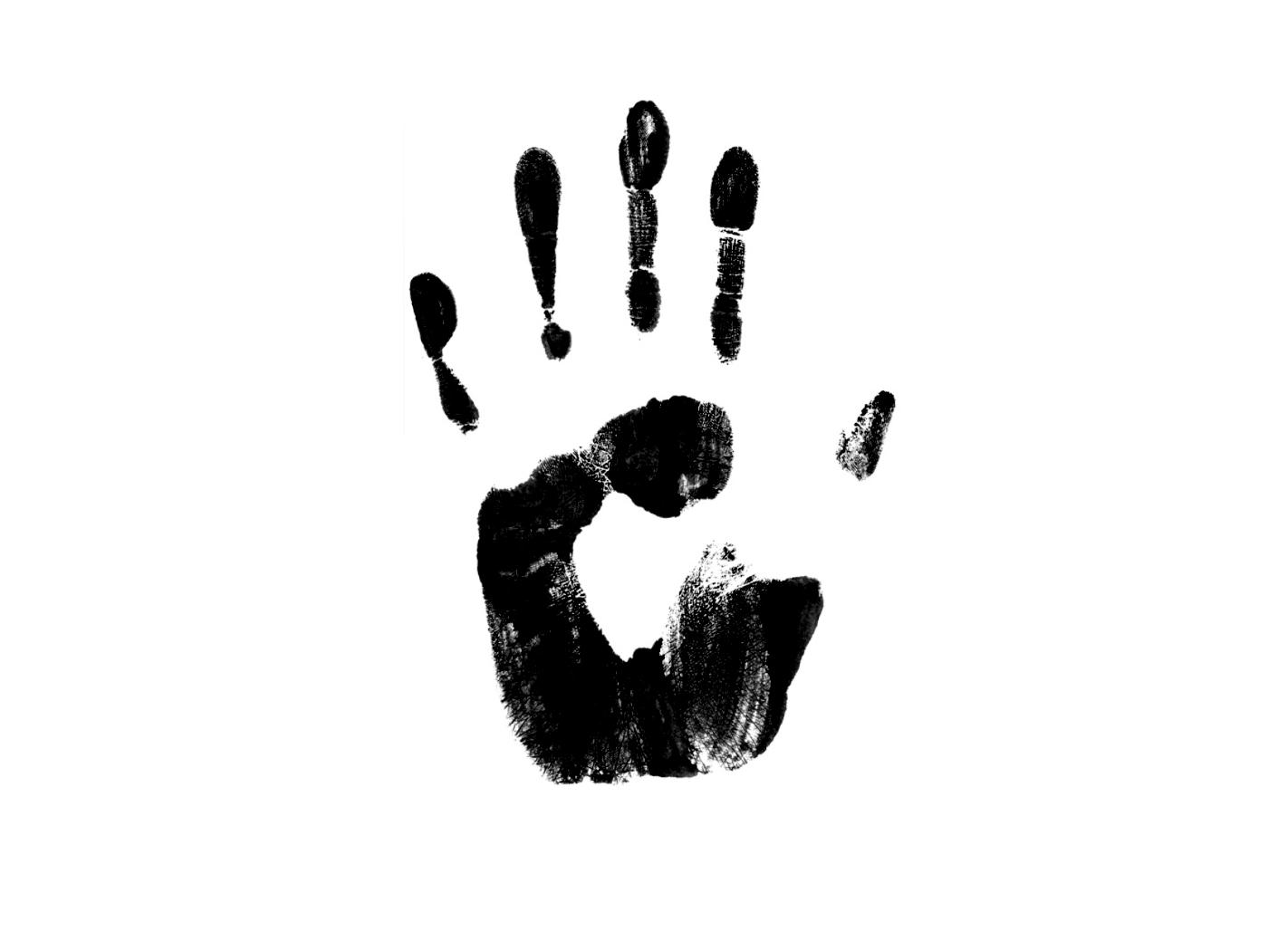 Graphics Hand Black And White