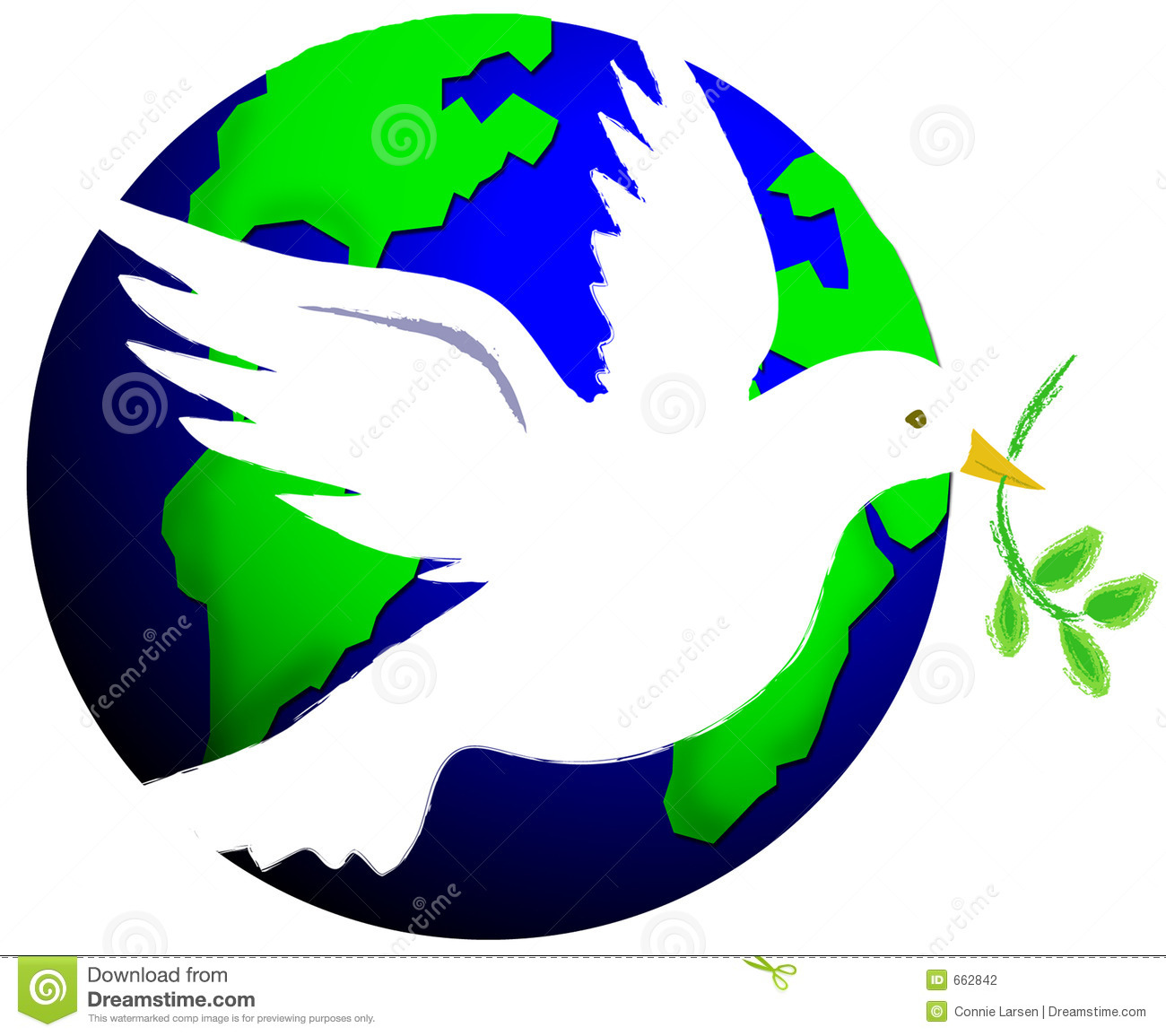 free christmas peace on earth clipart - photo #15