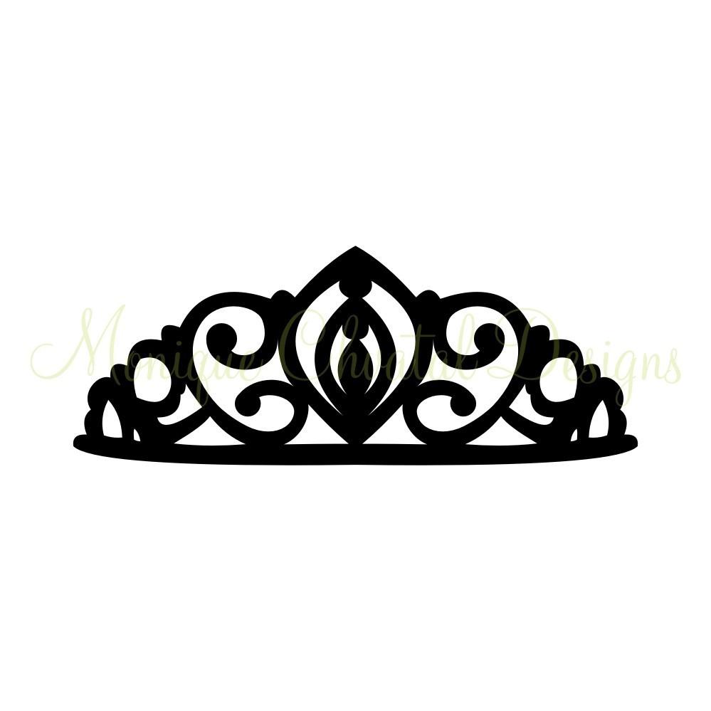 Simple Princess Crown Drawing