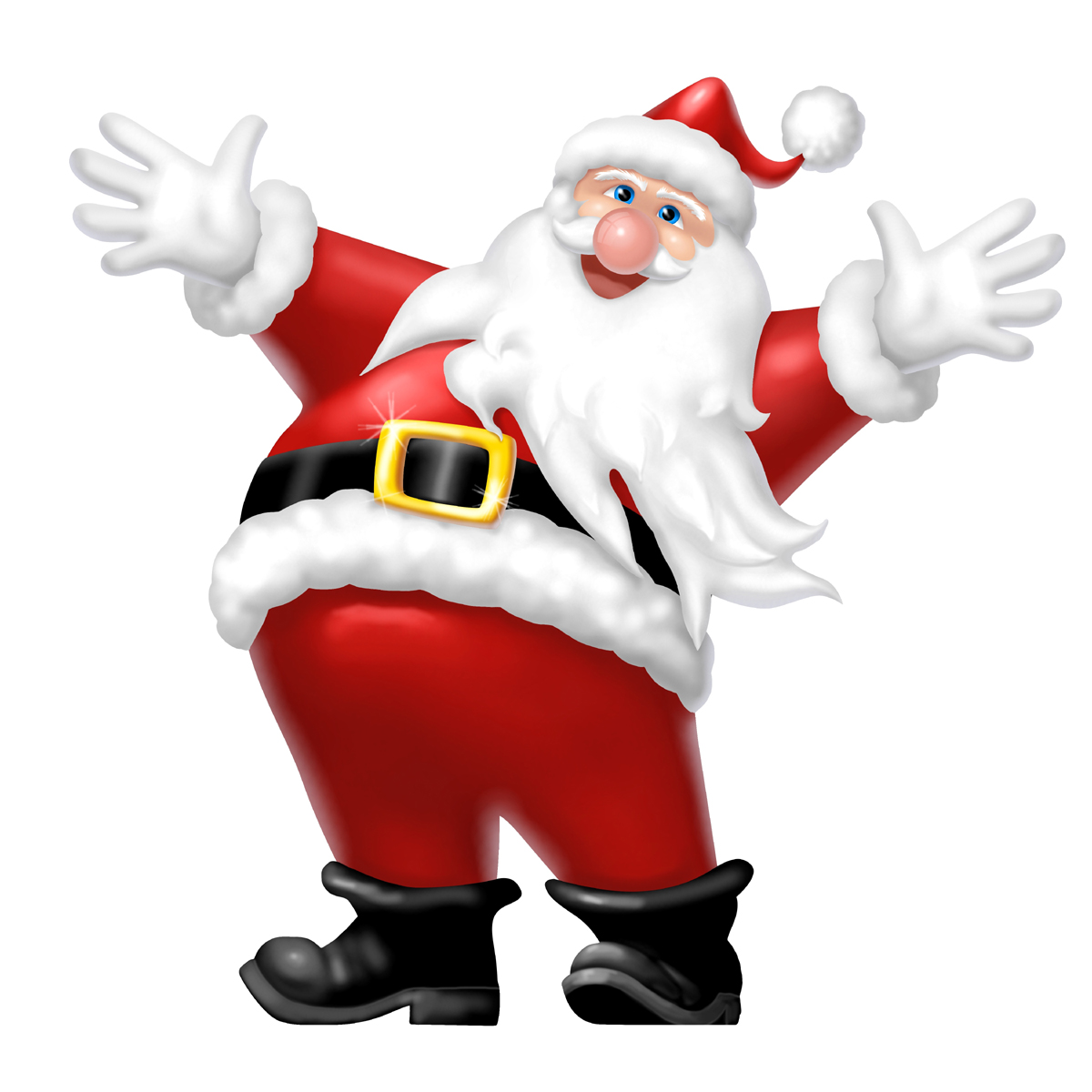 Christmas Santa Clipart - Clipart Kid