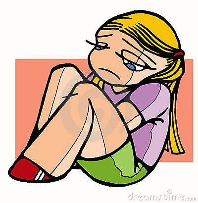 Sad Little Girl Clip Art Quotes
