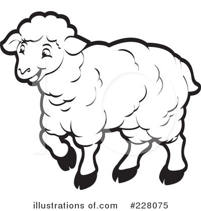 Sheep Clipart  228075   Illustration By Lal Perera