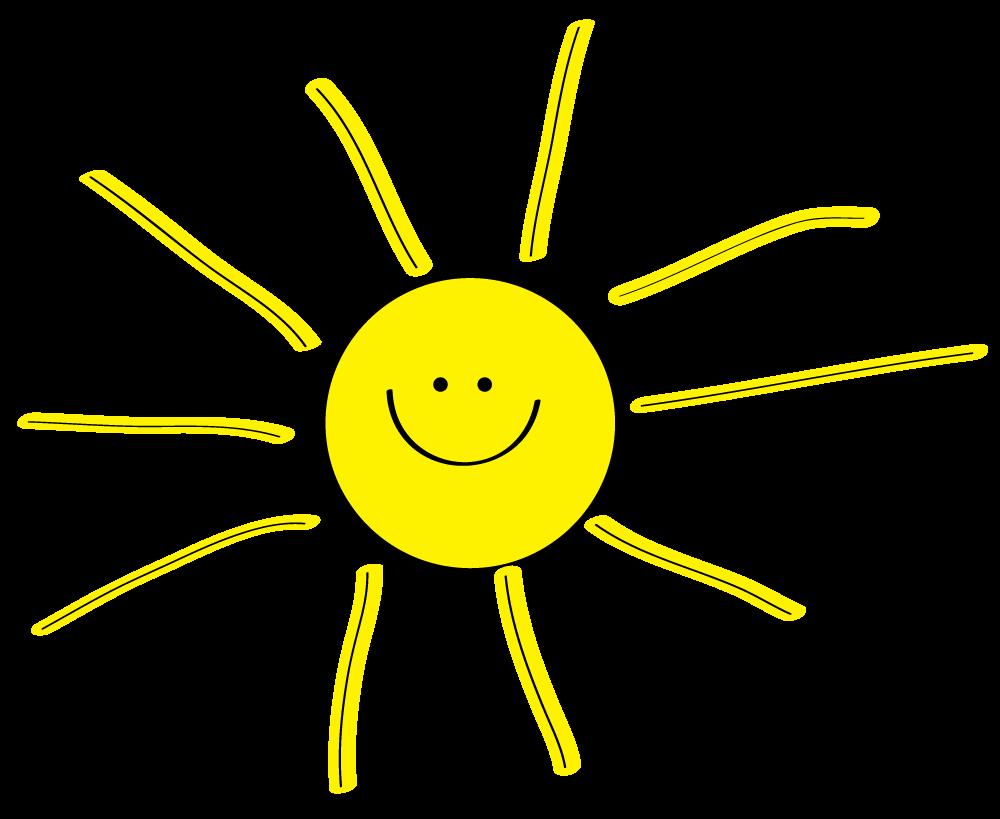 Sunshine Background Clipart Sun Clipart
