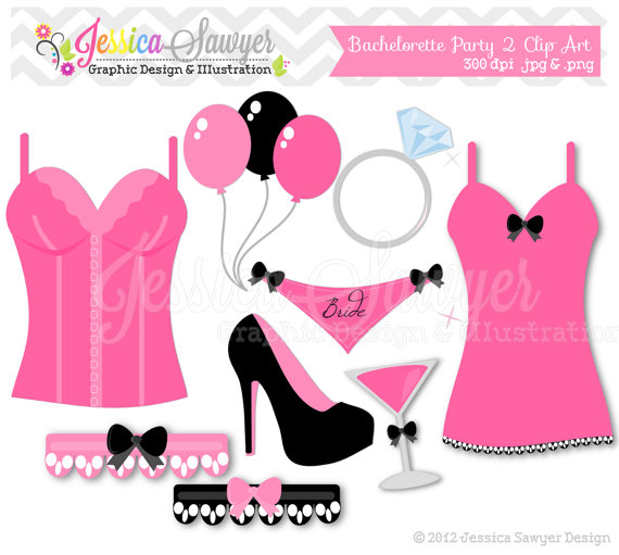 Lingerie Shower Clipart - Clipart Kid