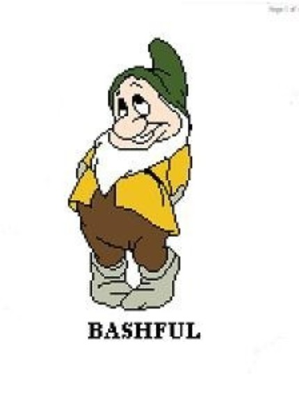Clipart Clipartonline Net Snow White Bashful