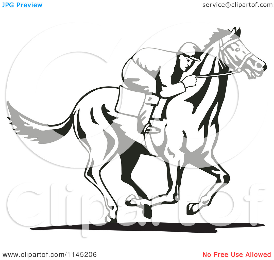 Derby Horse Clipart