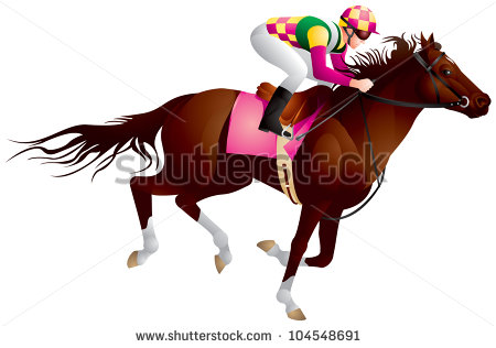 Clip Art Black And White Kentucky Derby Clipart