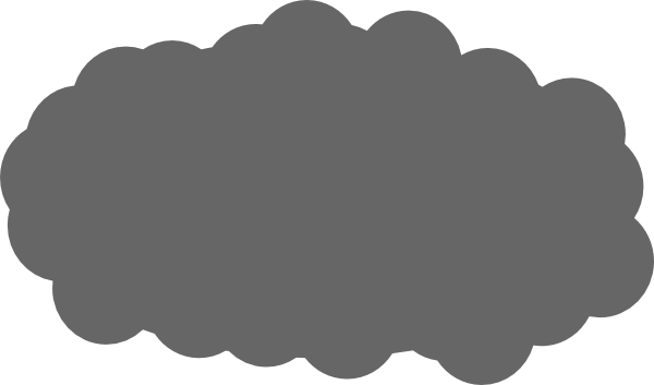 gray cloud clipart clipart suggest