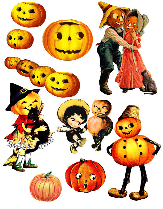 vintage pumpkin clip art - photo #43