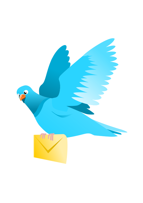 Sending Messages Clip Art