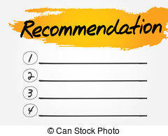Recommendation Illustrations And Clipart