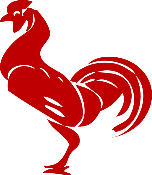 Red Rooster Clip Art At Clker Com   Vector Clip Art Online Royalty