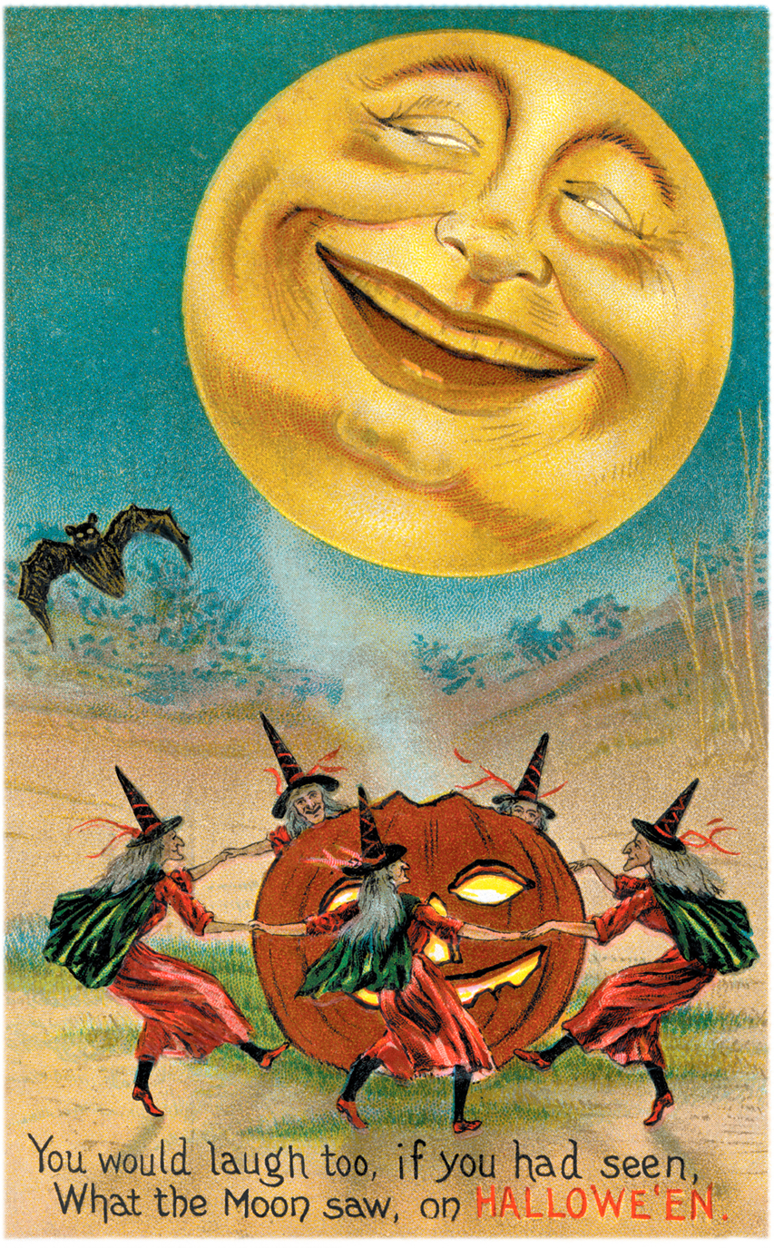 halloween clip art free vintage - photo #49