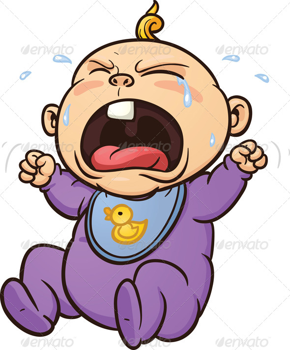 Baby Crying Clipart - Clipart Kid