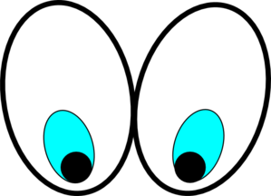 Silly Eyes Clipart - C...