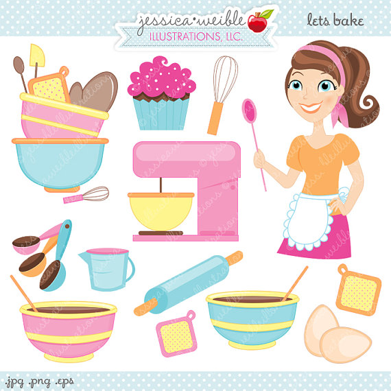 Clipart   Commercial Use Ok   Baking Graphics Baker Baking Clipart