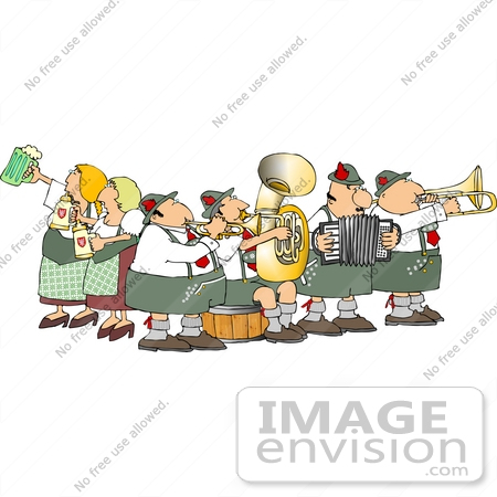 German Man Holding Beer Stein Clipart Djart