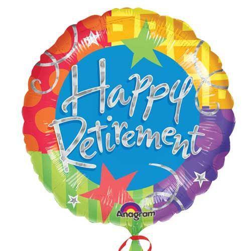 Happy Retirement Clipart Retirement Balloons   Happy