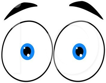 Looking Eyes Clip Art   Clipart Panda   Free Clipart Images