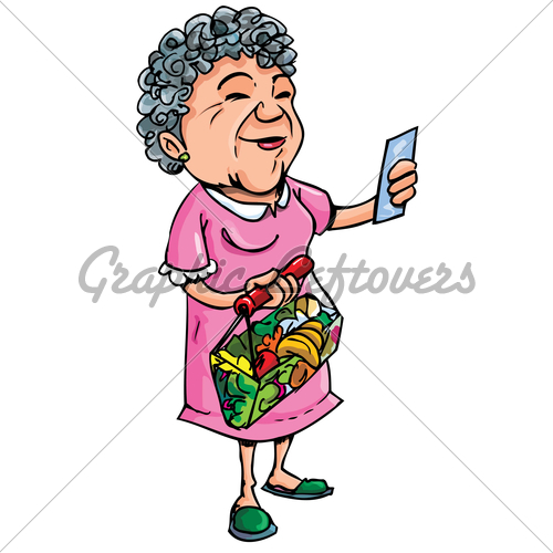 Mean Old Lady Cartoon Character Old Lady Photos Stock Images Pictures
