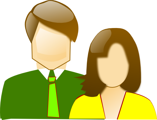 Mother And Father Clip Art At Clker Com   Vector Clip Art Online