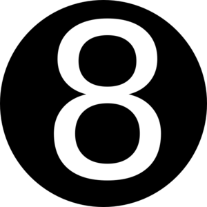 Number 8 Clipart Black And White Number 8 Clipar...