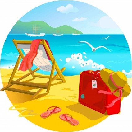 Related Pictures Beach Clip Kids Background Summer Fun Desktop