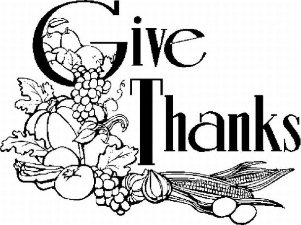 Religious Thanksgiving Images Clip Art Thanksgiving Eatables Coloring