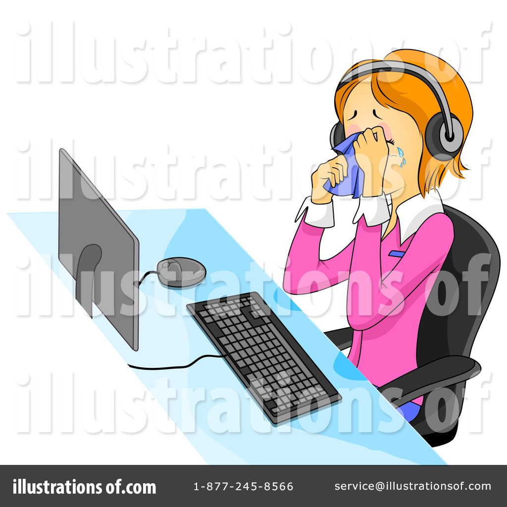 Royalty Free  Rf  Customer Service Clipart Illustration  432917 By Bnp
