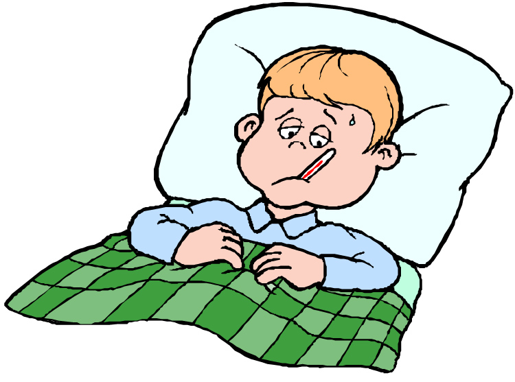 Sick In Bed Clipart Images   Pictures   Becuo