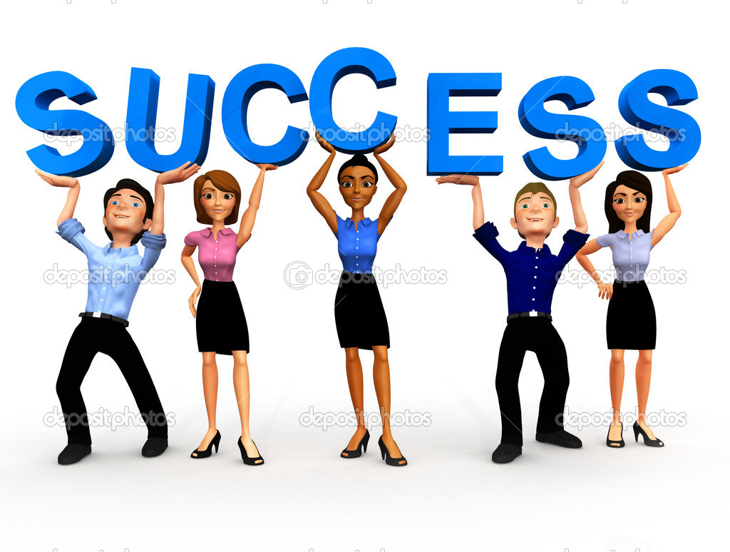 3d Business Success   Stock Photo   Andresr  7764388