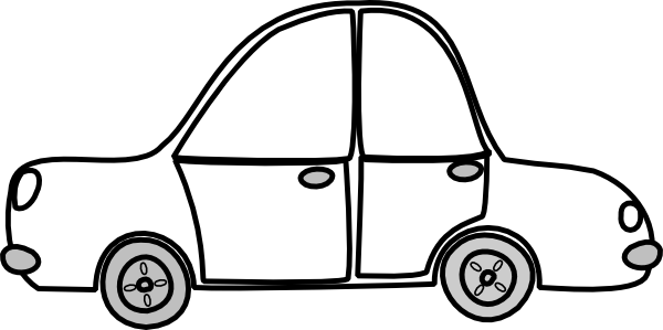 Free Car Outline Clipart - Clipart Kid