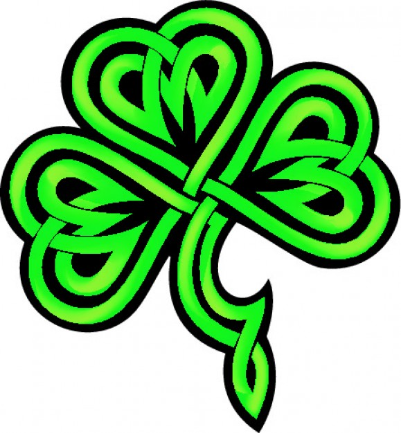 Celtic Shamrock Clipart - Clipart Kid