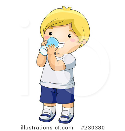 Drinking Clipart  230330   Illustration By Bnp Design Studio